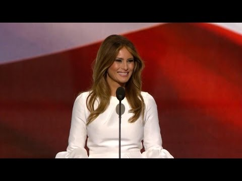 Melania Trump Never Finished College Despite What RNC Program Says