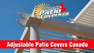 Adjustable Patio Covers Canada