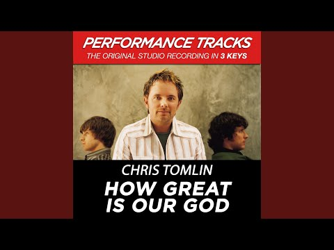 How Great Is Our God (Performance Track In Key Of Db With Background Vocals)
