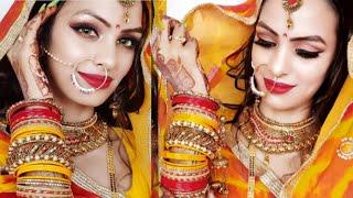 Traditional karwa Chauth Makeup 2019🔥🥰 ऐसे करेंगी मेकअप तो लगेगी नई नवेली दुल्हन Priya Deep