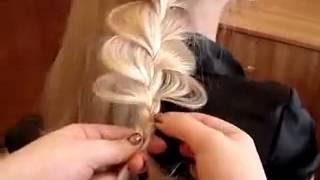 Плетение косы ажур(Плетем косички :), 2012-03-24T09:36:00.000Z)
