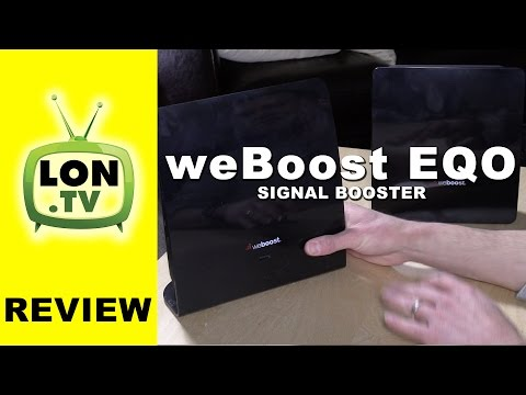 weBoost EQO Cell / Smart Phone Signal Booster Review - AT&T, Verizon, Sprint, T-mobile and others