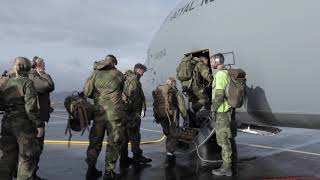 DFN:TRIDENT JUNCTURE 2018 - Hercules/Maritime Combat Support Service (MARCSS) Cooperation NORWAY