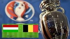 Belgien vs  Ungarn Highlights alle Tore Euro 2016 HD