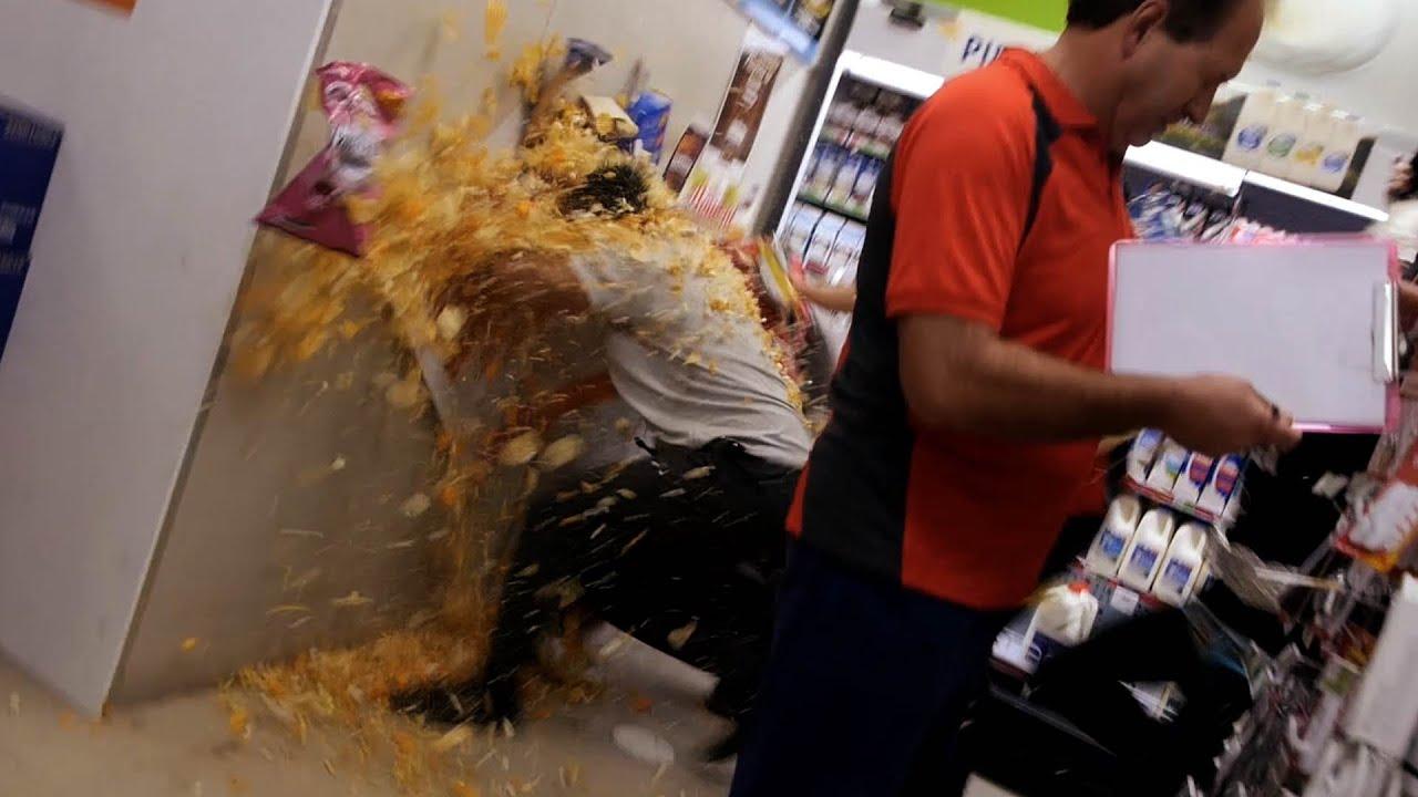 Supermarket Food Fight Doovi