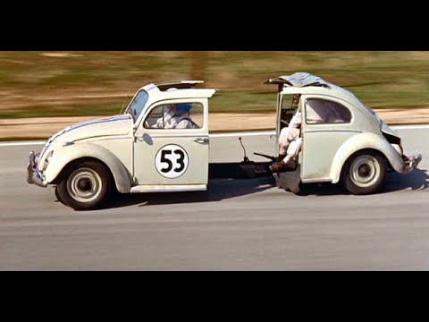 The Love Bug (1968) Herbie Wins The El Dorado