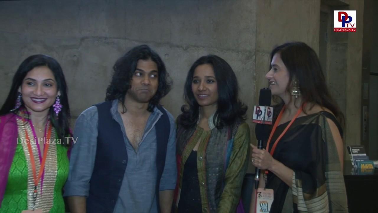 Actress Tanishta Chaterjee and Director N. PadmaKumar at South Asian Film Festival    DesiplazaTV