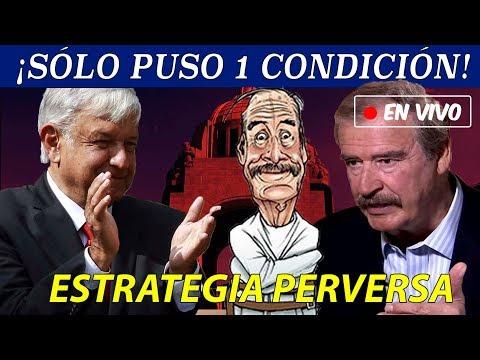 INSOLITO  ¡Vicente Fox admite que SI debe ir a la cárcel!