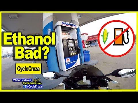 Ethanol Gas BAD For Motorcycles? | MotoVlog