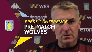 Press Conference | Dean Smith Pre-Wolves