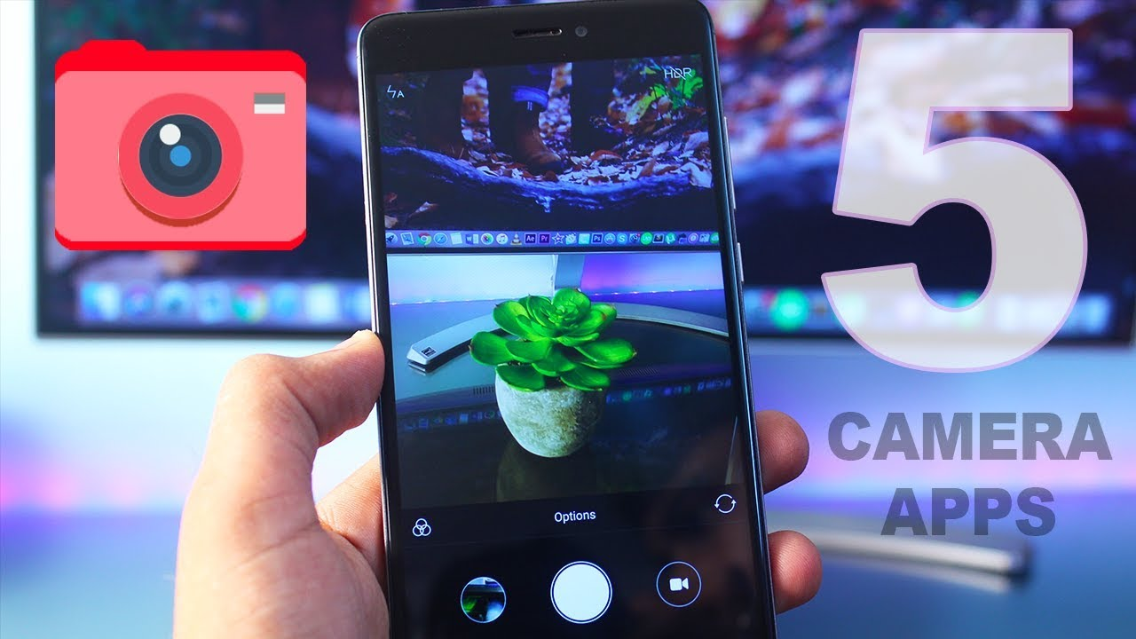 Top 5 Best Camera Apps for Android 2017