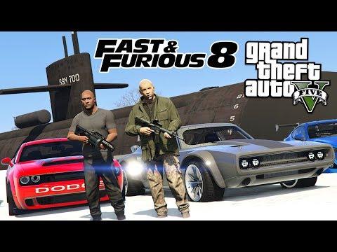 FAST & FURIOUS 8!! (GTA 5 Mods)