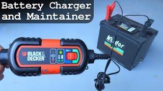 Black & Decker BDV090 - 6V 12V Battery Charger and Maintainer