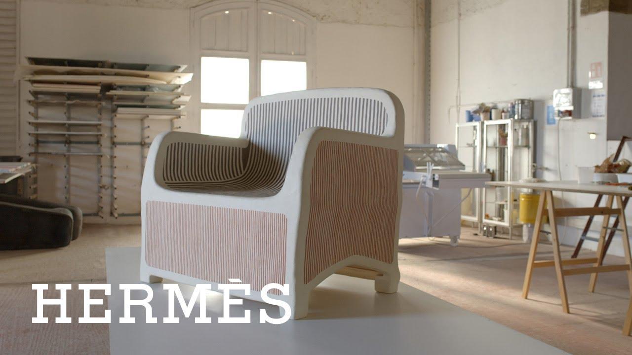 Hermès | Sillage d'Hermès armchair
