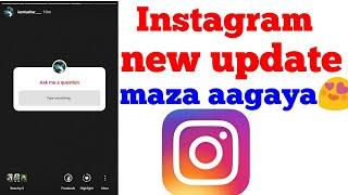 Instagram story new update 2018 in hindi