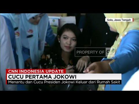 Menantu dan Cucu Presiden Jokowi Tinggalkan Rumah Sakit