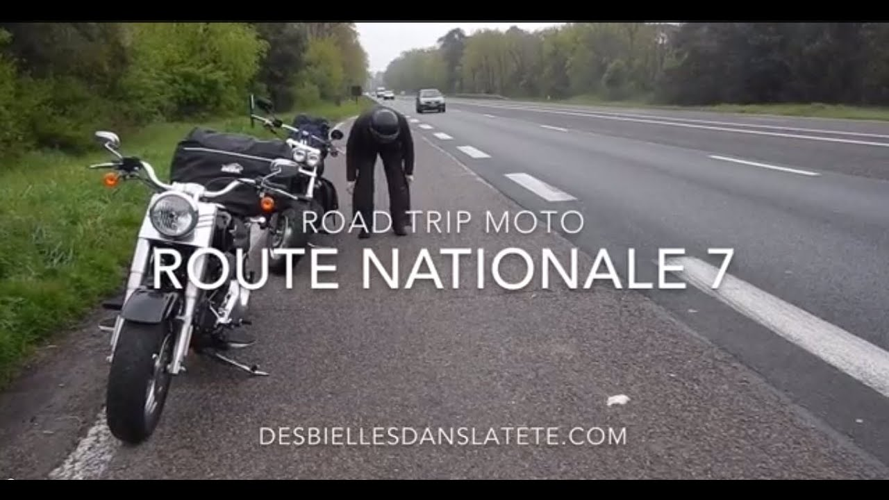 road trip moto rn7 route napoleon youtube. Black Bedroom Furniture Sets. Home Design Ideas