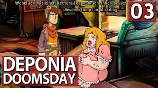 Deponia Doomsday #3 die TRANSE LOTTI ► Lets Play Deponia Doomsday deutsch