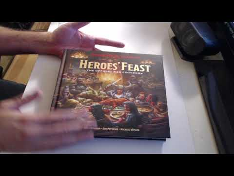 Looking At Heroes' Feast – The Official Dungeons & Dragons Cookbook