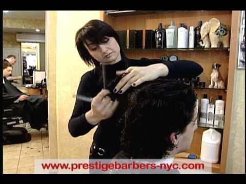 Barber Shop Nyc Prestige Barbers New York Mens Haircut Youtube