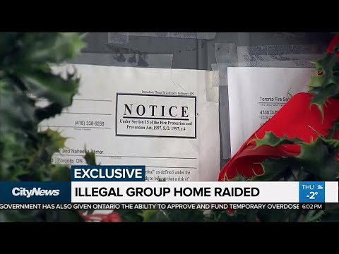 Toronto fire raids illegal group home at heart of CityNews investigation