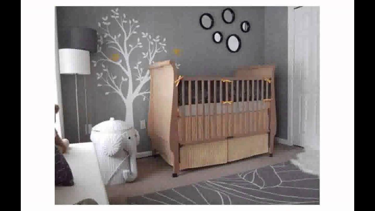 Baby Boy Nursery Wall Decals - YouTube