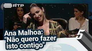 """Ana Malhoa: """"Eu não quero fazer isto contigo"""" - 5 Para a Meia-Noite"""