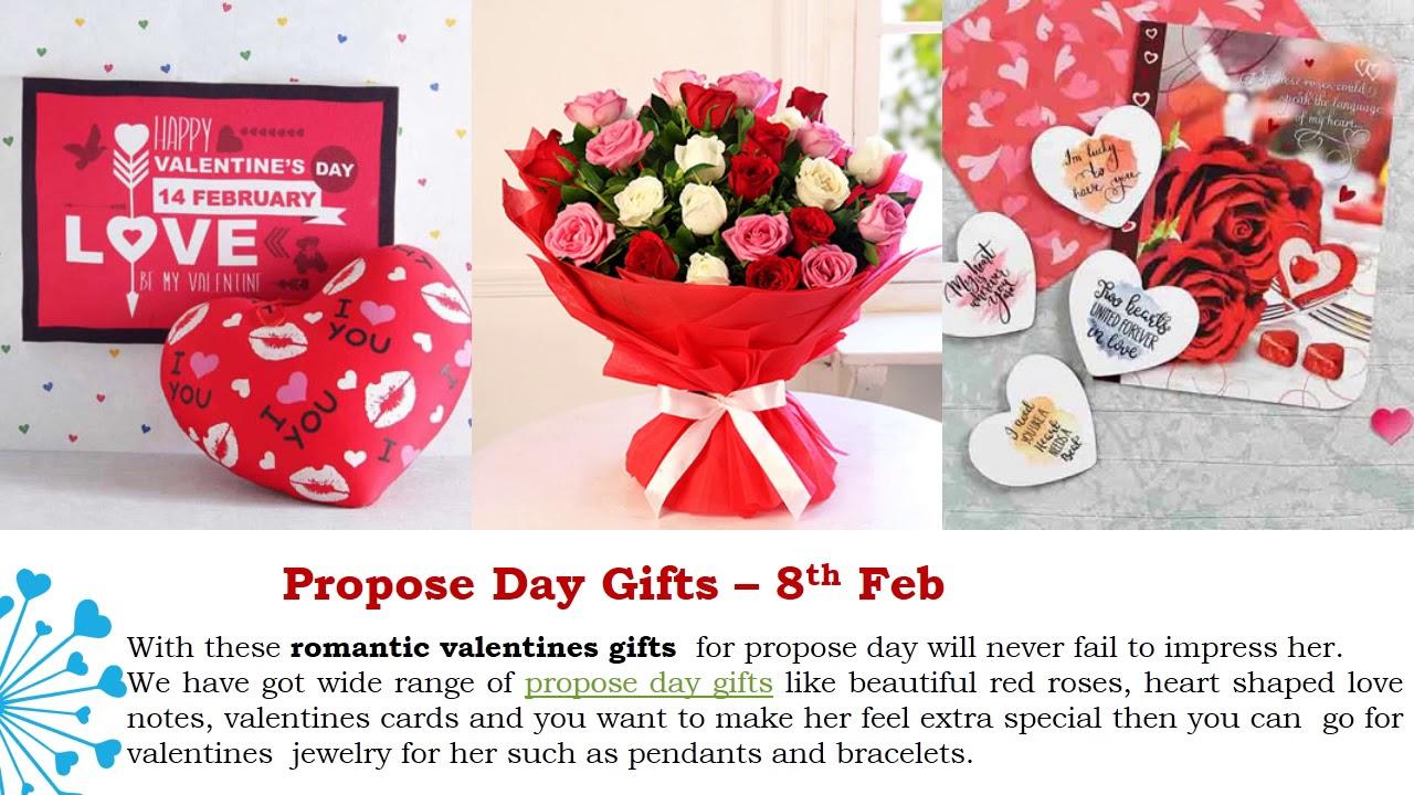 Valentine Week Gifts For Boyfriend Girlfriend Valentine