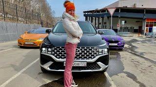 Новый Хендай Санта Фе 2021. Моторы, коробки, цена. Обзор и тест Hyundai Santa Fe. Что не так?