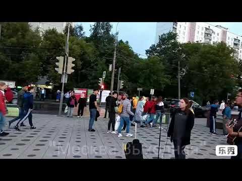 Москва 746 на люблинском районе в Москве осенью Люблинский район метро Люблино вечером