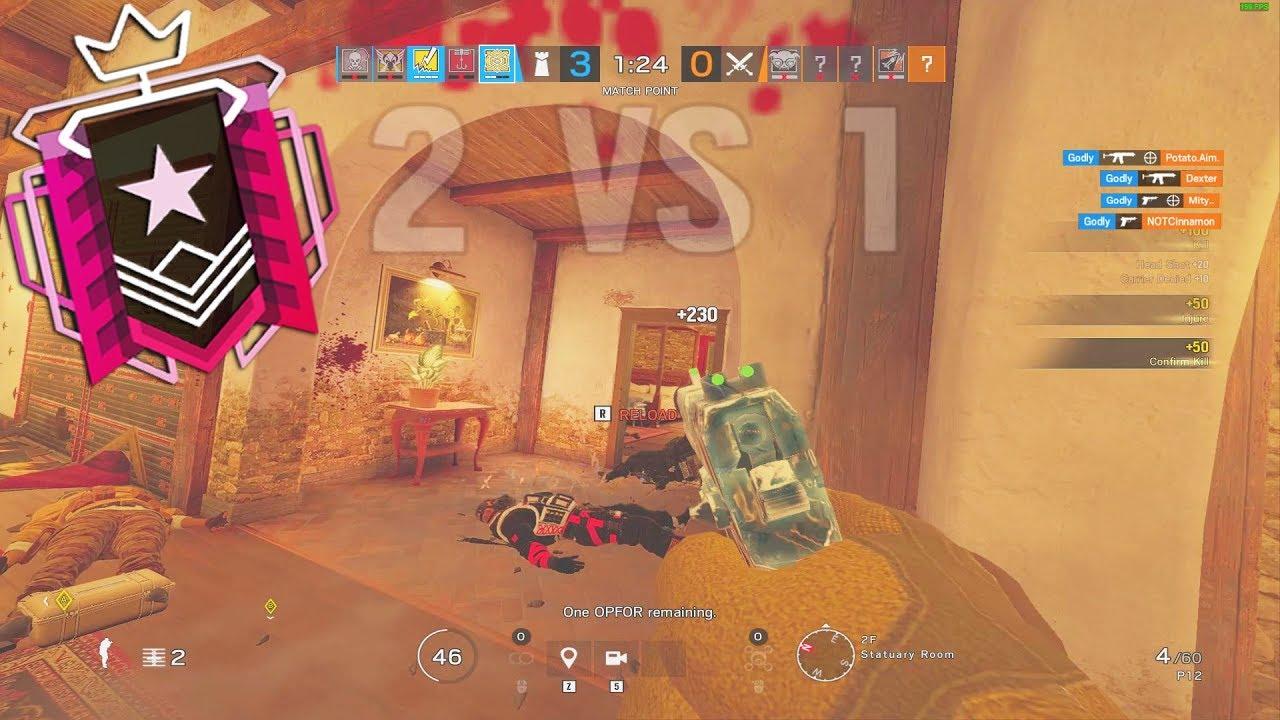 How a Champion Plays Jäger - Rainbow Six Siege thumbnail