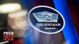 WATCH LIVE: Pentagon updates public during briefing