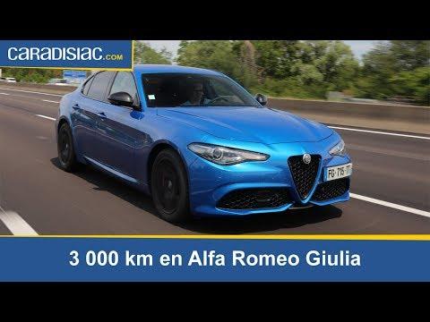 Essai longue durée : 3 000 km en Alfa Romeo Giulia
