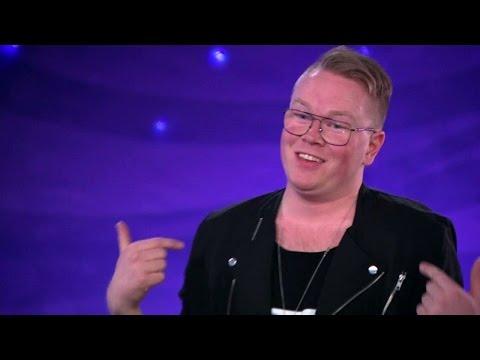 """Jesper Petersson försöker charma """"röven av Idol-juryn"""" i Idol 2016 - Idol Sverige (TV4)"""