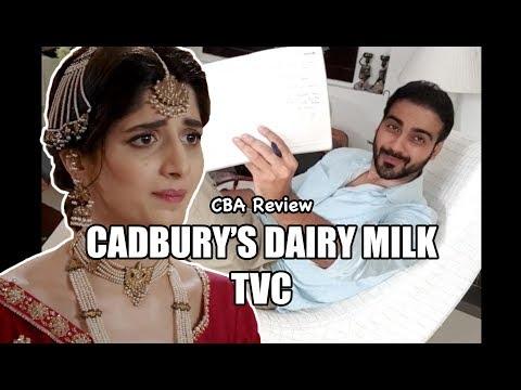 Cadbury Dairy Milk TVC Review |CBA| Comics By Arslan