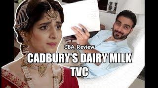 Cadbury Dairy Milk TVC Review  CBA  Comics By Arslan