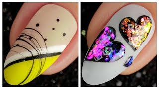 Simple Nail Art Design 2019 ❤️💅 Compilation | Ten New Simple Nails Art Ideas Compilation #113