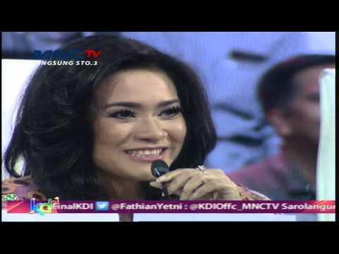 Komentar Ayudia - Azizah - Putri - Ratu - Kontes Final KDI 2015 (30/4)