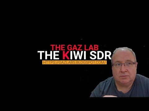 The Kiwi SDR introduction..