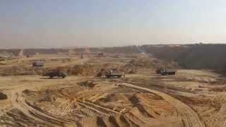 New Suez Canal: The scene of the drilling in December 2014