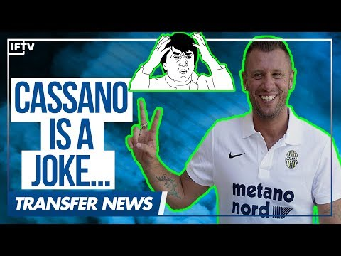 ANTONIO CASSANO RETIRES FROM FOOTBALL...AGAIN!! | Serie A Transfer News