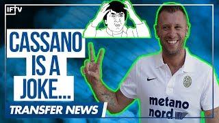 ANTONIO CASSANO RETIRES FROM FOOTBALL...AGAIN!! | Serie A Transfer News