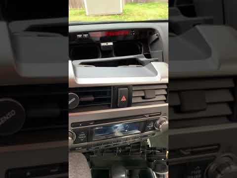 2012 5th Gen Toyota 4Runner dash noise FIXED