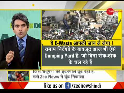 DNA: Sting operation of organizational crime of burning e-waste in Delhi-NCR