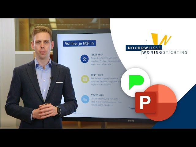 Slidebuilder voor Noordwijkse Woningstichting | Portfolio | PPT Solutions