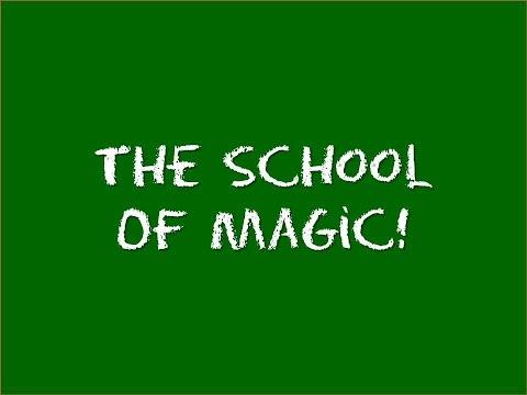 The school of magic (human blockhead)