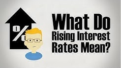 What do Rising Interest Rates Mean?