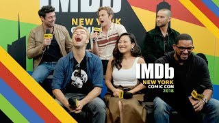 """The Boys"" Brings a Dark Twist to Superheroes | NYCC 2018"