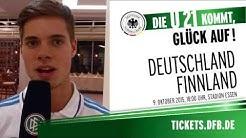 U21-Nationalmmanschaft Deutschland - Finnland in Essen