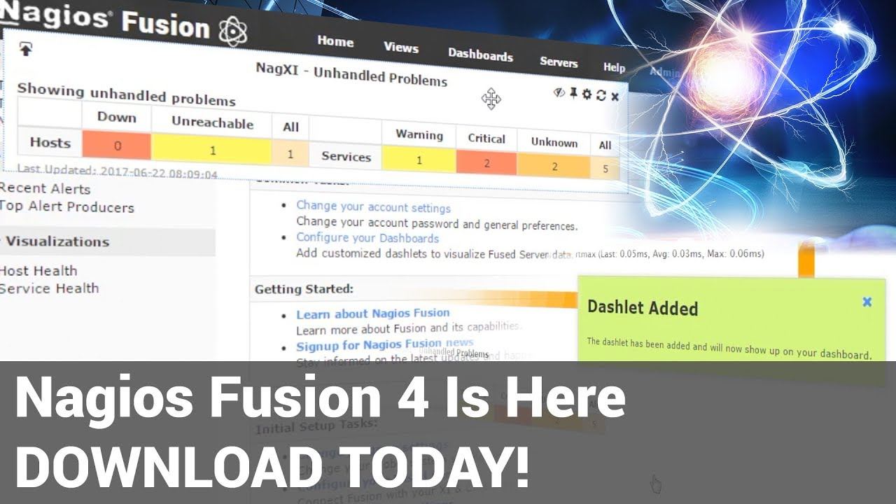 Introducing Nagios Fusion 4. Scale like never before! - Dauer: 60 Sekunden